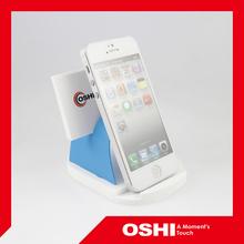 Ocean blue color novelty unique cell phone holder, mobile holder, cellphone holder, photo holder, business card holder