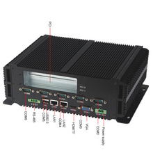 Fanless industrial computer for POS machine (LBOX-GM45),intel core 2 duo CPU / DDR3 2G / SSD 16G / 2 PCI slot