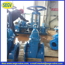 bs 5163 non rising stem cast iron gate valve/hard seal/brass seat/13cr seat Z45T-16