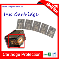 Chip reset to full level ink cartridge for hp 662 refill ink cartridge