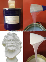 liquid silicone rubber for gesso mold making