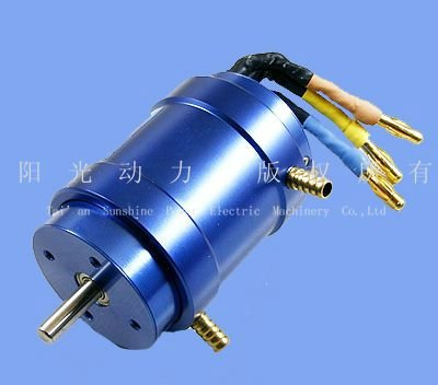 Brushless water cooling dc motor for electric car buy for Liquid cooled ac motor