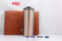 Ceramic stainless steel coffee mug stainless steel coffee mugs with lid