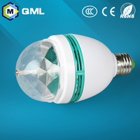AC220-240V,50-60Hz Magic 3w high hat led bulb for party use with IC driver