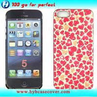 fashion mobile rhinestone phone case printed design cover