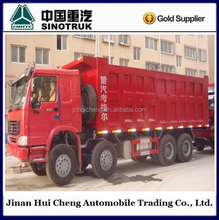 Howo dump truck 8x4 capacity 50-60 ton for sale