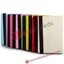 With Holder PC+PU Leather Case for 7 Inch China Tablet case -8 colors