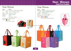 Factory supply Hot sale Non woven shopping bag folding tote shopping bags recycled