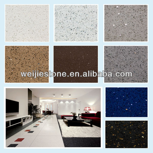 Artificial quartz stone price sparkle quartz stone for Porcelain countertops cost