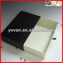packaging slide cardboard box