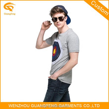 Hot Sale Distributors Of Clothing My Own Brand Grey System Tshirt For Men