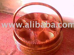 Wooden Folding Basket