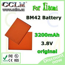 original 3200mAh BM42 Battery For XiaoMI mobile phone battery Red Rice Note Enhance mobile Phone batteries
