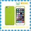 Rubber Oil Painted OEM case for iphone 6 crystal