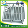 durable portable dog pet cage aluminum dog transport kennels