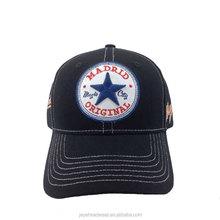 Wholesale metal buckle back closure sports caps custom baseball caps men women