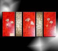 modern abstract acrylic simple abstract paintings red abstract paintings fine art