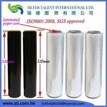 PE, LLDPE Plastic Stretch Film , Hand Pallet Shrink Wrap Factory price