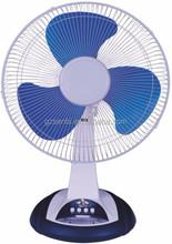 12 inch 2 pin rechargeable table fan motor RPM