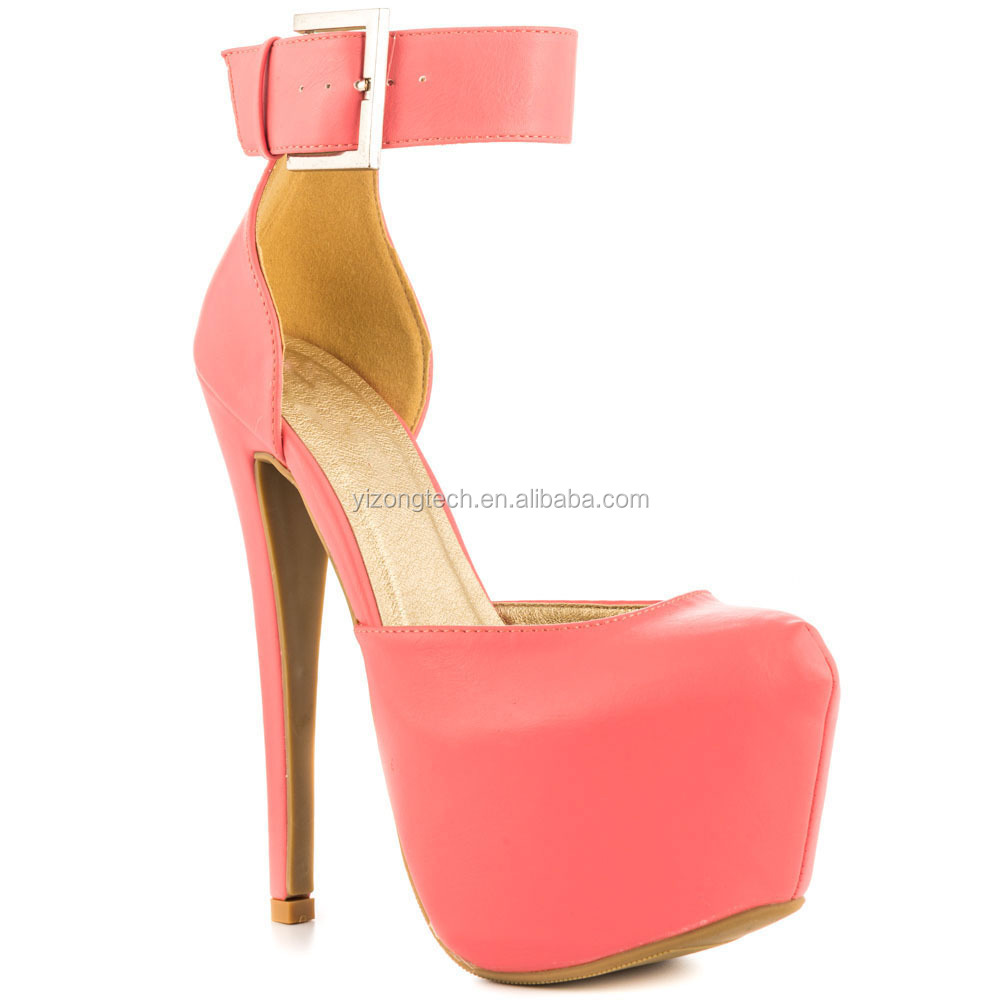 Pink Platform High Heels