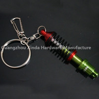 Wholesale Tein Custom Logo Car Parts Shock Absorber Coilover Spring Keychain Keyrings Red Black gold.blue Color
