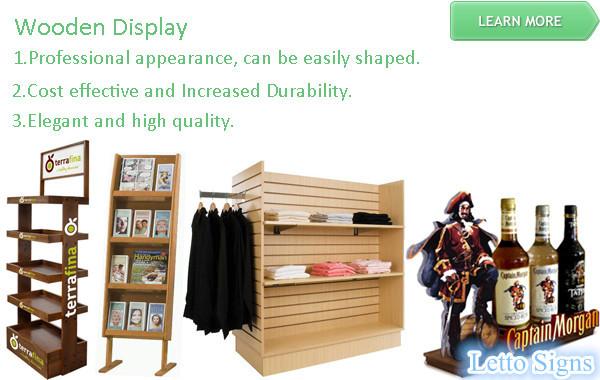 wooden display_