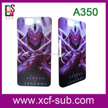 Hot selling DIY 3D sublimation PP protective phone case for micromax A350