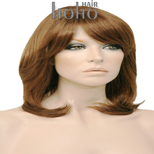 High quality Japanese synthetic fiber quality blonde short hair wig