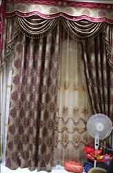 automatic classic curtain design for salon