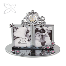Elegant Swarovski Crystals Wedding Picture Frames