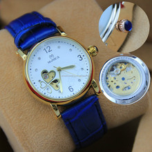lady mechnical fashion watch
