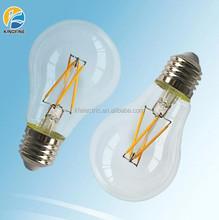 Full Glass housing 8w E27 3000K 110V 220V Helium Mixed Gas LED Filament Bulb