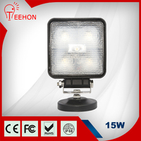 ON PROMOTION! Factory direct supply 1100LM Epistar 15W LED light price list for tractors trucks trailers jeep