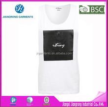 Cheap Custom 100% Polyester Dry Fit Plain Sleeveless Mans T-shirt Singlet