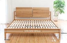 Modern low price twin modern wood bed designs