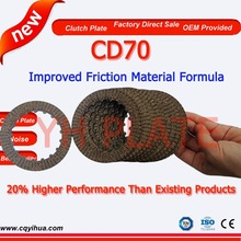 clutch plate type cd70 motorparts,motorcycle cg 125 clutch plate,high qufality friction disc