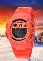 High quality Print dials Silicone Watches with Soft Silicone Wrist watch