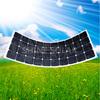 thin film semi flexible solar panel solar wafer sunpower cell 100w 120w 250w
