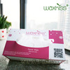 Nonwoven spunlace disposable facial cleaing wipes task wipers