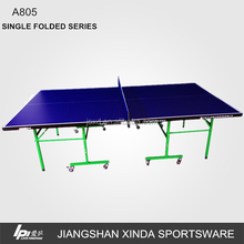 Popular Inisde Movable Table Tennis Table For Club Using