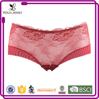 White Valentine'S Day Sweet Nice Young Girl Underwear Sheer Lace Panties