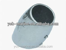 S00100A Stainless Steel Boat Rail Fittings/Stainless Steel 60 degree Elbow Rail Pipe Fitting