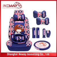 OEM size and material flag car seat cover
