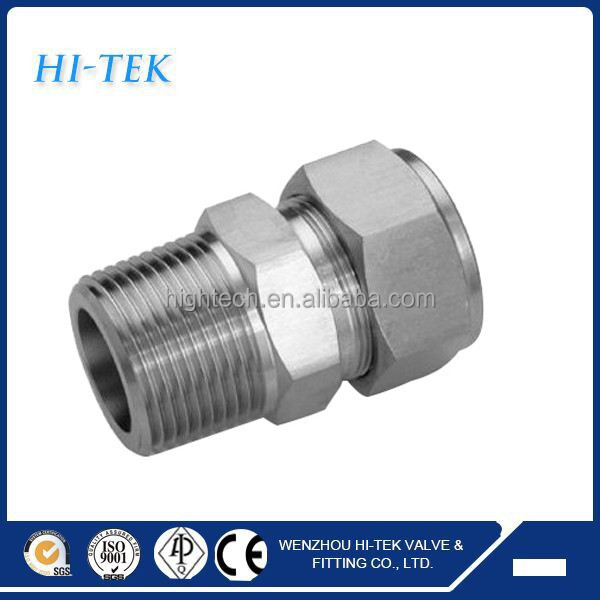 Stainless steel straight union male connector buy