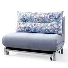 Superior quality adjustable armrest fabric sofa bed