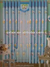Most popular hotel adhesive velcro curtain