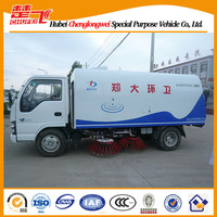 ISUZU 4*2 5CBM road sweeper truck factroy direct sales