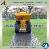 UHMWPE Floor covering,heavy duty ground mat,construction road mat