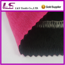 100D*40D polyester cation fabric bonding waterprood elastic spandex fabric