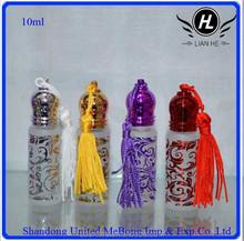 10ml clear air brushing glass perfume bottle